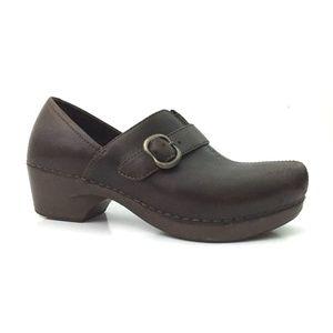 Dansko - Size 37 - Leather Tamara Nursing Clogs